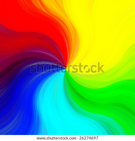 Colorful painted vector background