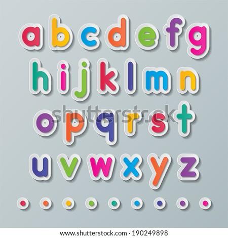 Origami Alphabet Stock Images RoyaltyFree Images