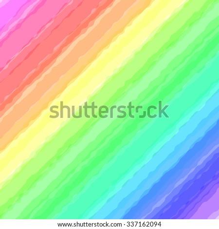Colorful pastel color spectrum paint vector background. - stock vector