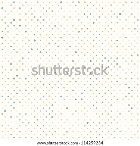 Colorful polka dot pattern. And also includes EPS 8 vector - stock vector