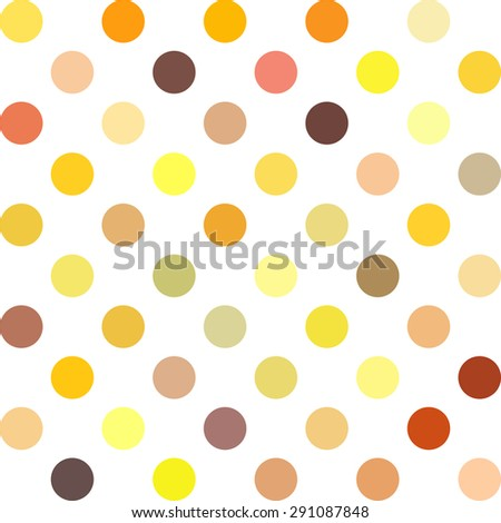 Colorful Polka Dots Background, Creative Design Templates
