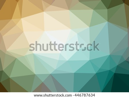 Colorful polygonal geometric background. Creative Business Design Templates. Triangles background, polygonal design.