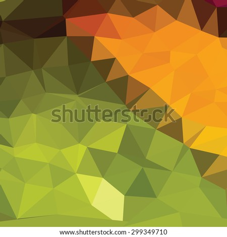 Colorful polygonal vector background - stock vector