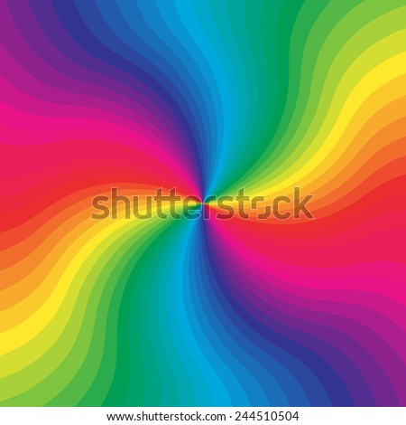 Colorful rainbow background for your web design, desktop wallpaper or website. Abstract burst. Vector illustration.