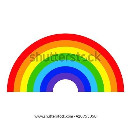 Rainbow Images RoyaltyFree Images Vectors – Rainbow Template