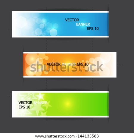 colorful ribbon, vector illustration