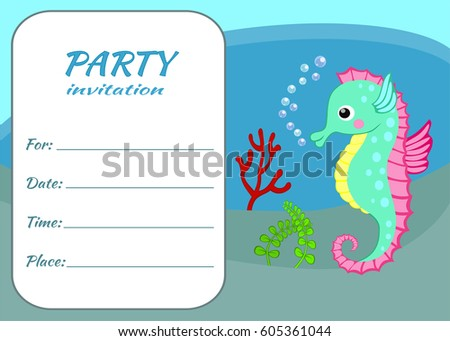 Birthday Party Invitation Images RoyaltyFree Images – Childrens Party Invitations