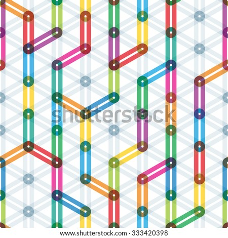 Colorful seamless background. Vector EPS10. - stock vector