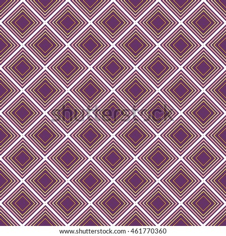 Colorful seamless pattern with squares. Vector illustration