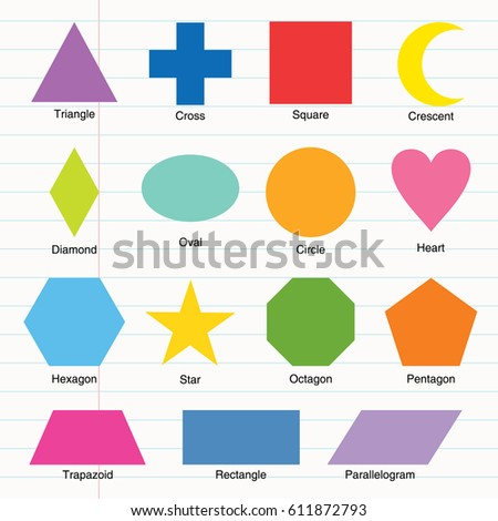 Colorful Shapes Stock Vector Shutterstock