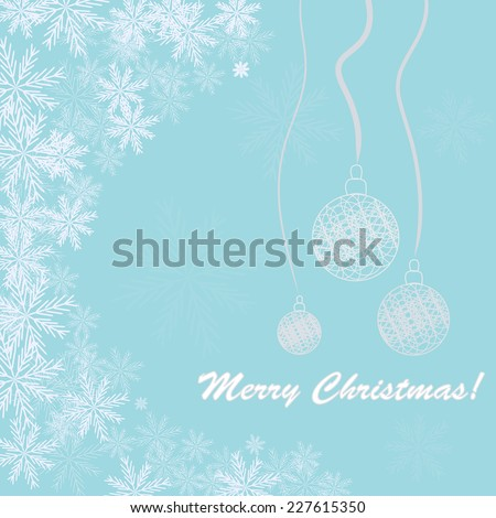 Colorful shiny Christmas background