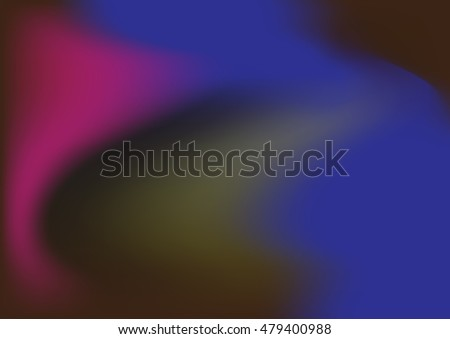 Colorful smooth curve purple and blue vector texture.Beautiful abstract elegant futuristic background.