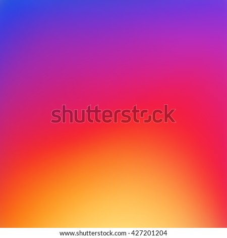Colorful smooth gradient color Background Wallpaper. Inspired by instagram new logo 2016. Vector illustration color Background design for your instagram new icon project design.
