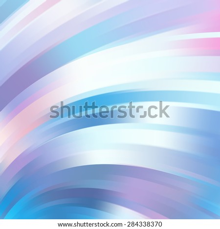 Colorful smooth light lines background. Vector illustration