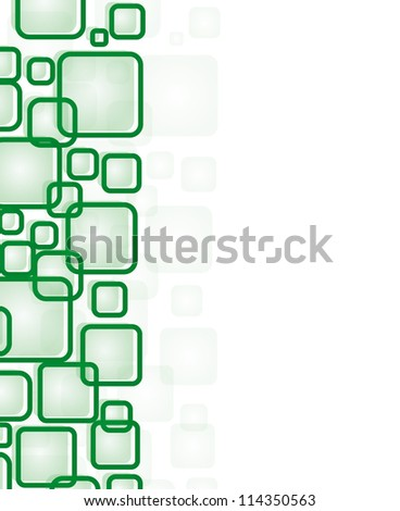 Colorful Square blank background/ Vector illustration