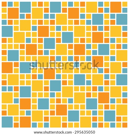 colorful square tile wallpaper background