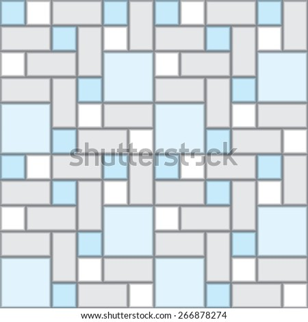 colorful square tiles pattern