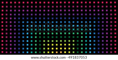 Colorful squared background