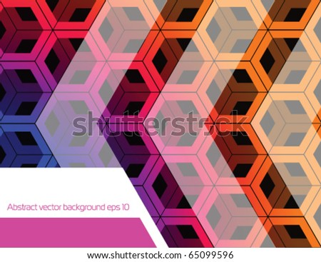 Colorful stock vector background - stock vector