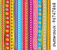 COlorful strip, abstract background - stock vector