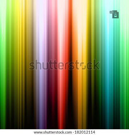 Colorful striped abstract background. Vector Illustration EPS10. - stock vector