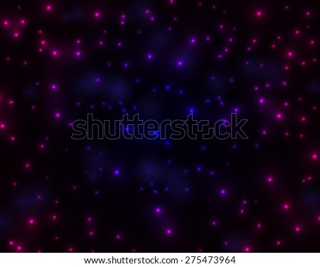 Colorful stripes on a dark background. Vector illustration for your business presentations - stock vector
