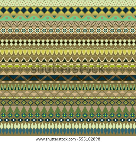 Colorful tribal vintage ethnic seamless pattern, geometric print, fabric, cloth design, wallpaper, wrapping