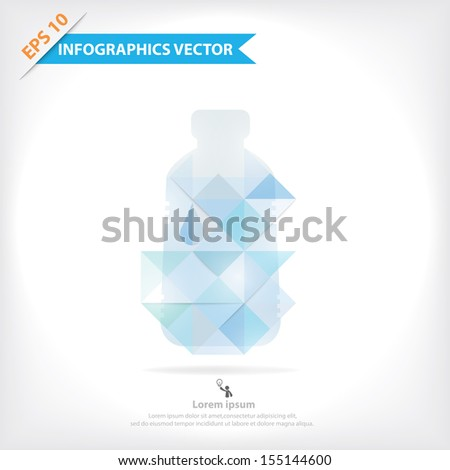 Colorful vector design for workflow layout, diagram, number options, web design, infographics, etc. - stock vector