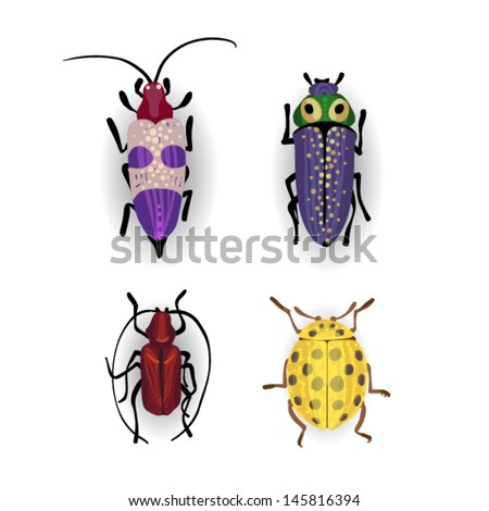 Cute insect drawing - photo#20