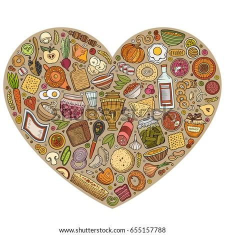 Pelmeni stock vectors images vector art shutterstock for Art of russian cuisine