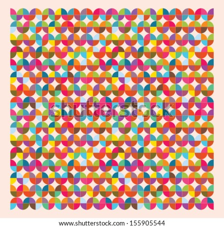 colorful vector patterns  - stock vector