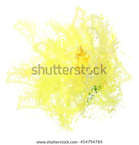 Colorful watercolor background. Watercolor vector texture, stains, splatter, splash.