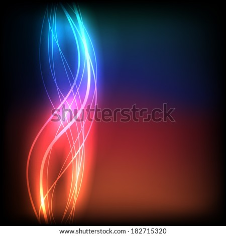 Colorful wave background. Vector eps10 - stock vector