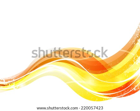Colorful waves - vector