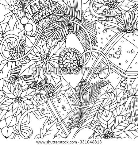 Mistletoe Cartoon Stock fotos