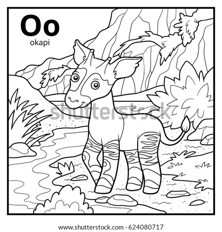 Okapi stock images royalty free images vectors for Okapi coloring page