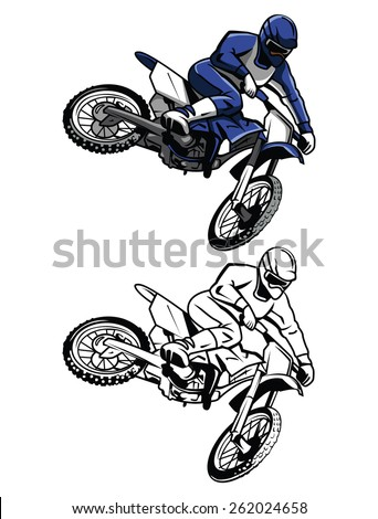 Motocross Bike Stock Images Royalty Free Images Amp Vectors