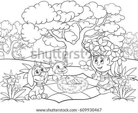 Kids Coloring Stock Images, Royalty-Free Images & Vectors ...