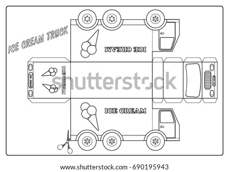 Icecream Truck Stock Images Royalty Free Vectors