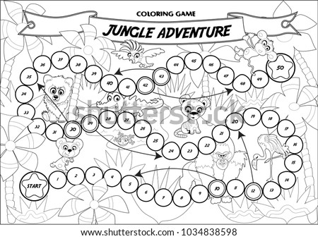 coloring pages of board games - photo#32