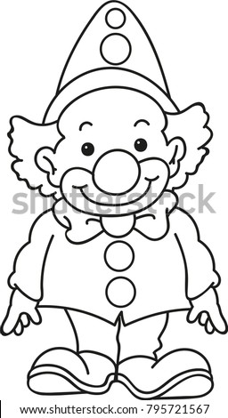 childrens clown coloring pages - photo#8