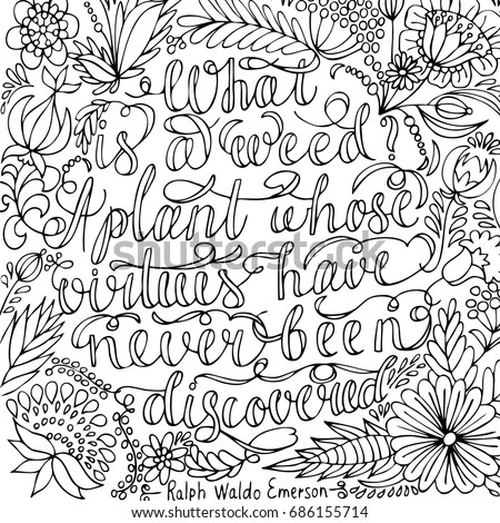coloring page with motivational quote coloring for adult anti stress coloring page with high - Quotes Coloring Pages