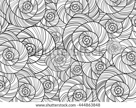 Coloring Pages Adults Older Children Vector Stock Vector 444863848