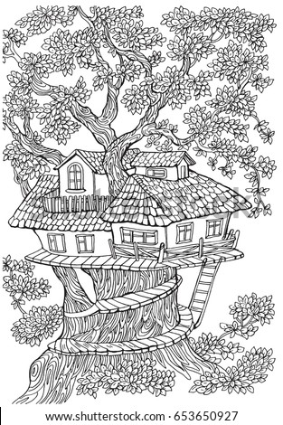 Kids Treehouse Stock Images Royalty Free Images Vectors