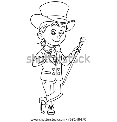 Coloring Pages Kids Design Childrens Colouring Stock Vector (2018 ...