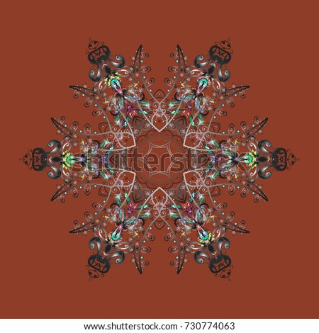 Coloring pages. Zentangle elegant snow flake. Vector ornamental winter illustration for decoration, Christmas greeting cards, invitation template.