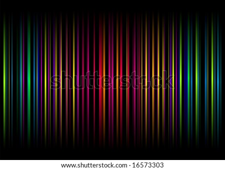 Colourful illustrated abstract background with vertical bars and stripes