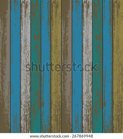 Colourful wooden texture background. EPS10