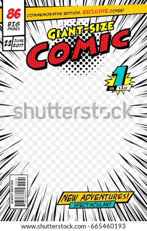 comic book cover vector illustration style stock vector royalty free 665460193 shutterstock. Black Bedroom Furniture Sets. Home Design Ideas