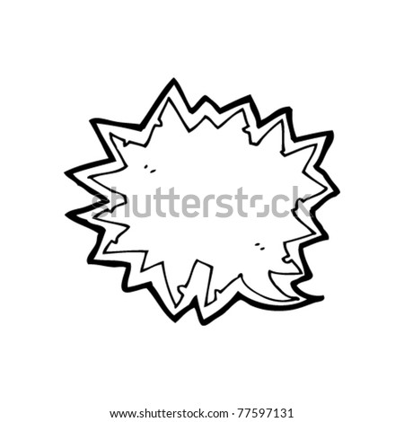 comic book explosion speech bubble cartoon